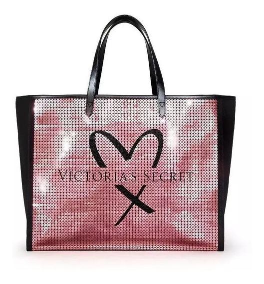 Bolso Victoria Secret - Rosa Lentejuelas
