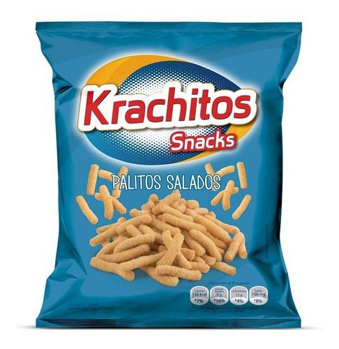 Palitos Salados Tradicionales Krachitos X 120 Gr