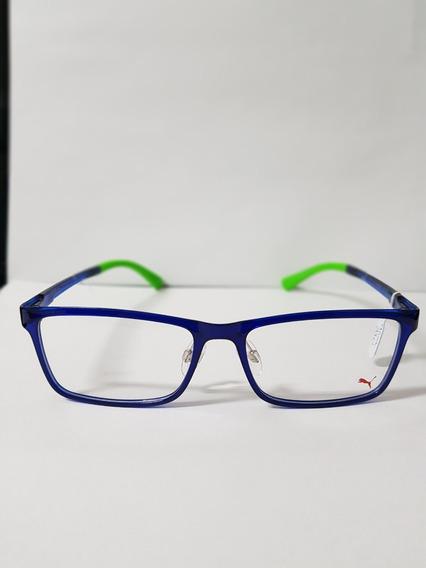Óculos De Grau Puma Pe00390a 003= 06
