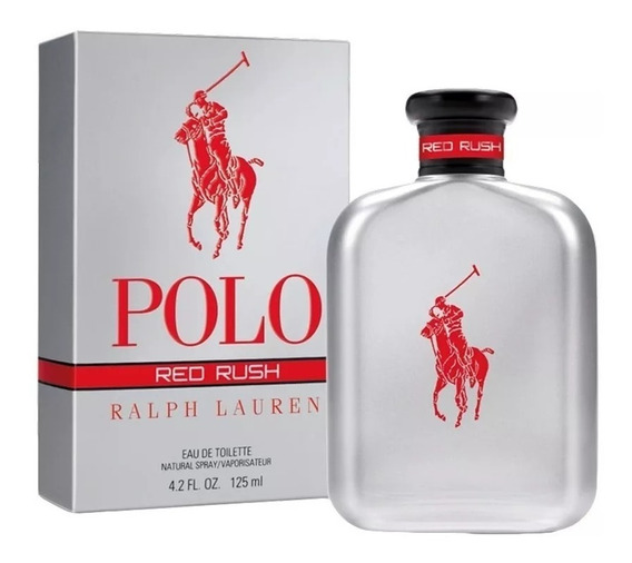 Perfume Masculino Polo Red Rush Ralph Lauren Edt 125ml Selo Adipec