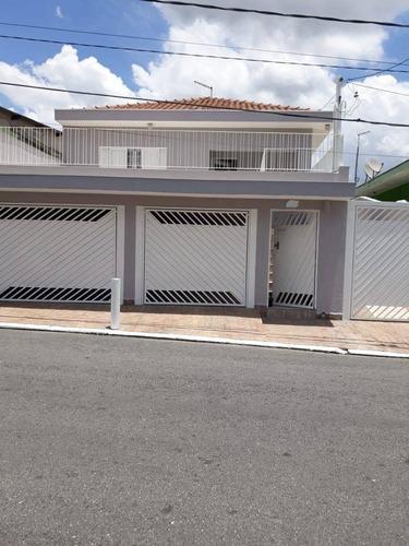 Casa À Venda, 168 M² Por R$ 744.000,00 - Jardim Silveira - Barueri/sp - Ca0692