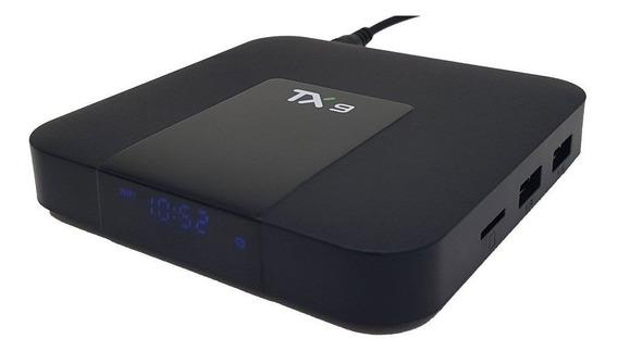 Conversor Smart Tv Tx9 Ram 2gb Android Tv Box 16 Gb