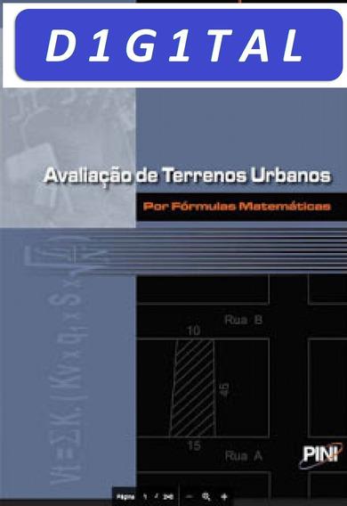 Livro - Avaliação De Terrenos Urbanos Por Fomulas Matematica