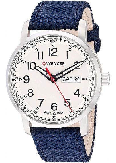 Wenger Relógio Suiço Wenger Atitude Navy Blue 01.1541.113