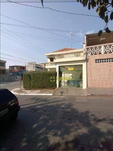 Sobrado Com 3 Dormitórios À Venda, 165 M² Por R$ 420.000,00 - Vila Nova York - São Paulo/sp - So0304