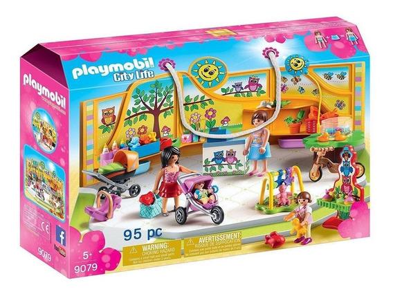 Playmobil City Life Loja De Bebê E Brinquedos 9079 Sunny
