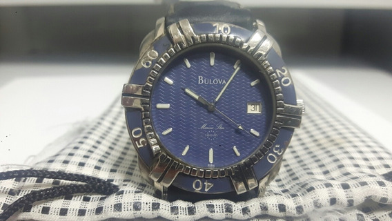 Relógio Bulova Marine Star Azul.