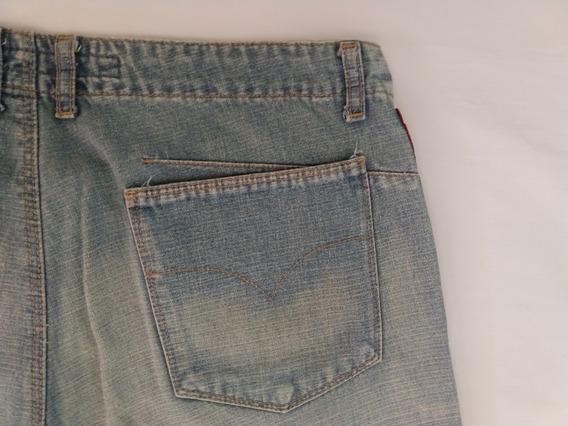 Ellus Calça Jeans Feminina 40 Oferta Original Promoção Azul