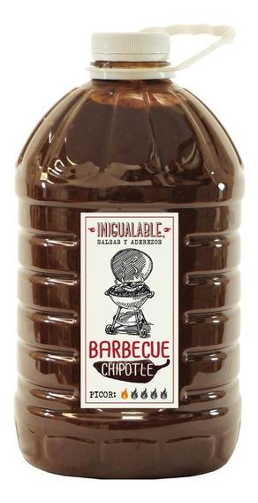 Inigualable Salsa Alitas - Bbq Chipotle - 1 Garrafa 3.78 L