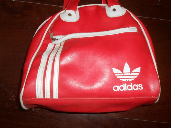 Cartera Bolso Deportivo adidas Rojo Muy Bonita!!