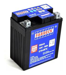 Bateria Moto Honda Titan 150 125 Ks Cg Fabreck Fa6-d Barato
