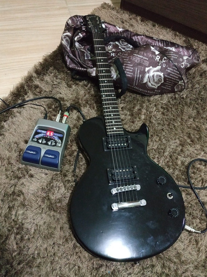 Guitarra EpiPhone Mais Pedaleira