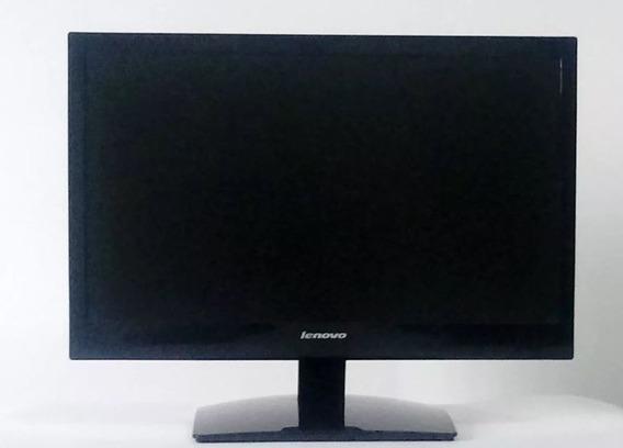Monitor Lenovo Led Widescreen 19 Pol Ls1920 Muito Bom De Led