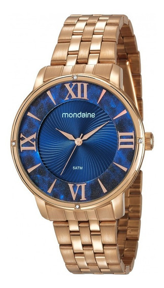Relógio Mondaine Feminino Rosé Analógico 53715lpmvre2