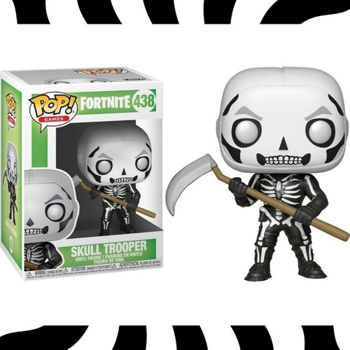 Funko Pop! Skull Trooper - Pop! Games Fortnite #438 Kemu
