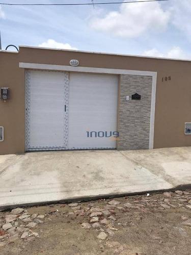 Casa Com 2 Dormitórios À Venda, 84 M² Por R$ 145.000,00 - Gereraú - Itaitinga/ce - Ca0783