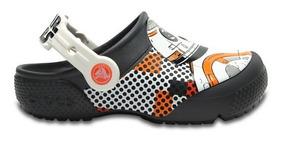 Zapato Crocs Niño Funlab Bb-8 Clog Gris