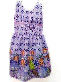 20cd71bd7c Vestido Infantil Tematico Princesa Sofia Discovery Kids