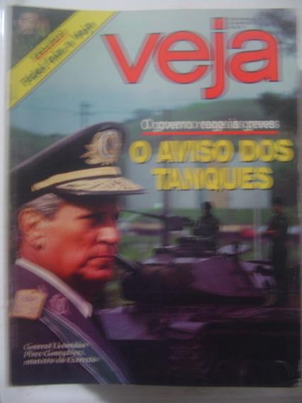 Revista Veja 967 Fidel Castro Papa João Paulo Brasilia 1987