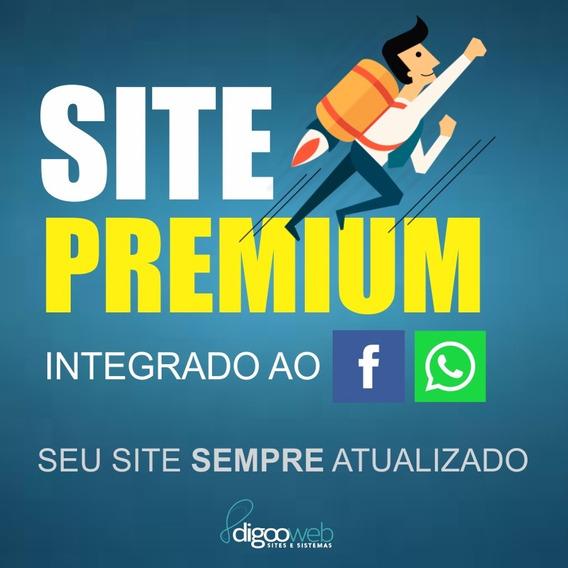 Site Barato E Atualizado Via Facebook (novidade No Brasil)