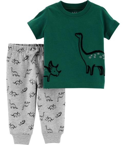Carters Conjunto Menino Carter´s Dinossauro 2 Peças