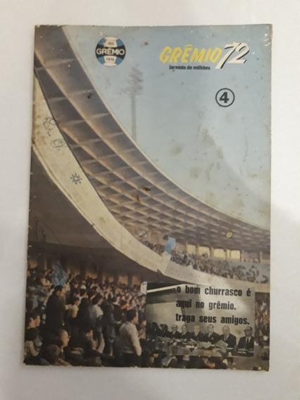 Revista Antiga Grêmio 72 - N 4 Revista Rara - Futebol