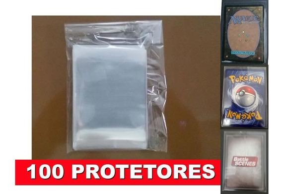 Protetor Card Magic Pokemon Sleeves Shields Mtg 100und
