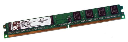 Imagen 1 de 1 de Memoria Ram Kingston Ddr2 1g 800 Mhz