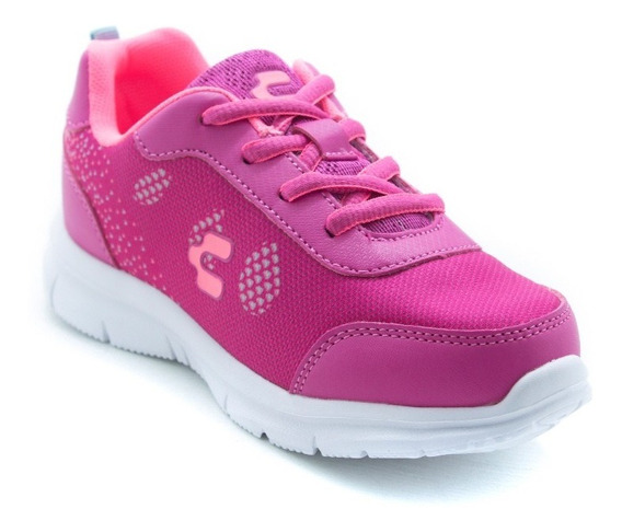 Tenis Niña Sport Light Charly 1069011 Fiusha Coral Original