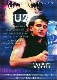 U2 - Rock Milestones War Dvd Imp