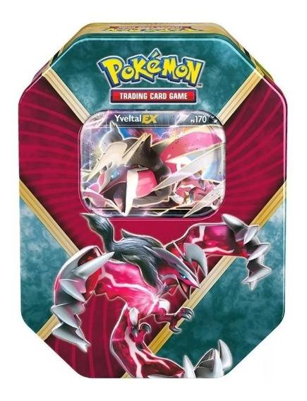 Pokemon Card Lata Kalos Brilhantes Yveltal Ex Original Pt Br