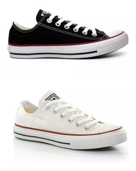 Kit 2 Pares All Star Converse Ct As Core Ox Original Loja