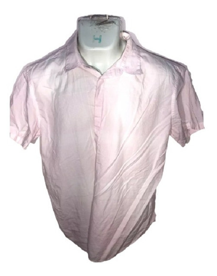 Camisa Xl Calvin Klein Id R757 Used Detalle Hombre Remate!