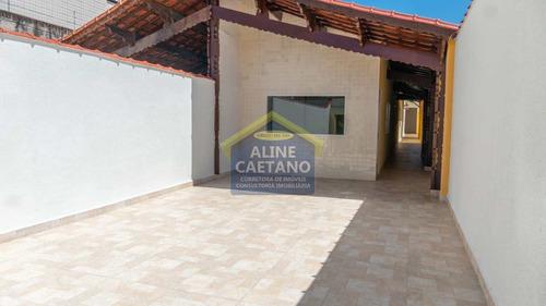 Casa Térrea 4 Suítes 1 Closed Lado Praia!! Financia!! - Vact064464