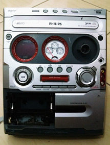 Fw M570 Philips Micro System Painel Frontal Para Desmanche