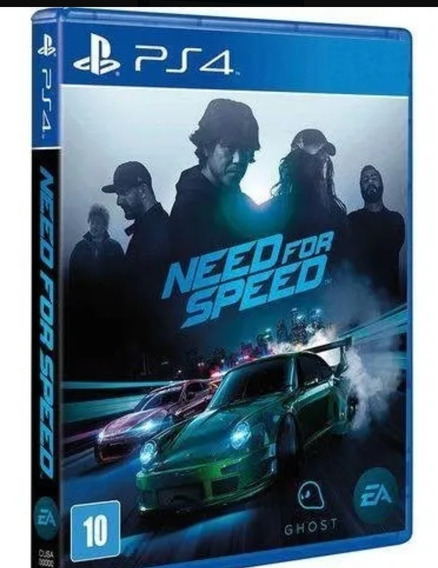 Need For Speed 2015 Ps4 Original 2 Vitalício