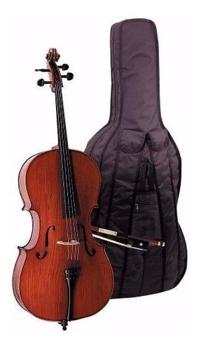 Imagen 1 de 6 de Violoncello Steinner Strauss Cello Macizo Dce101 4/4 Cuotas