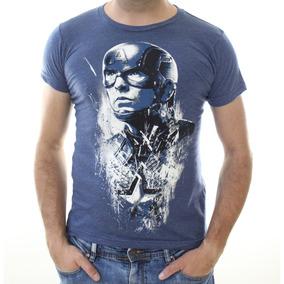 Playera Captain Steve Rogers Avengers Endgame