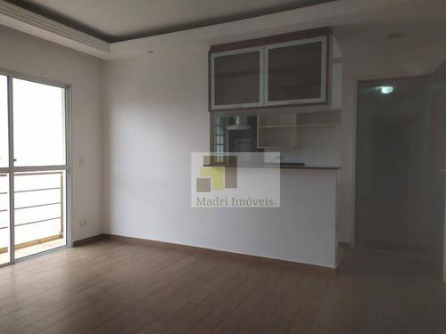 Apartamento Com 1 Dormitório Para Alugar, 58 M² Por R$ 2.000/mês - Pompeia - São Paulo/sp - Ap2198