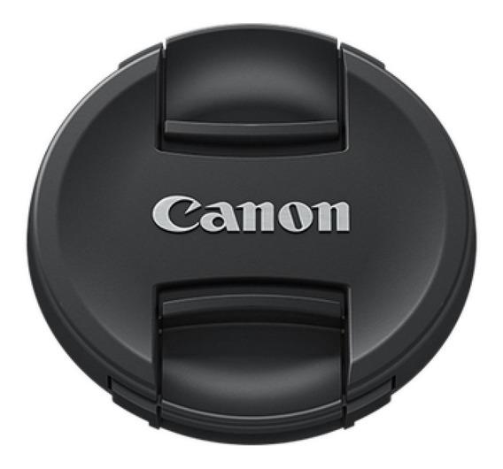 Tampa Frontal De Objetiva, Lente Diametro 58mm Logo Canon