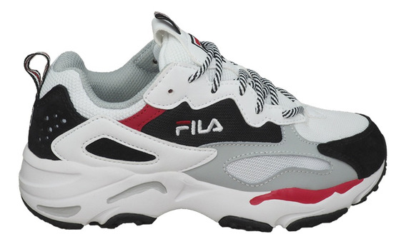Tênis Fila Ray Tracer White/black/red