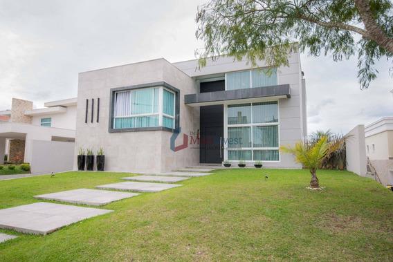 Casa Com 4 Dormitórios À Venda, 620 M² - Alphaville Graciosa - Pinhais/pr - Ca0093