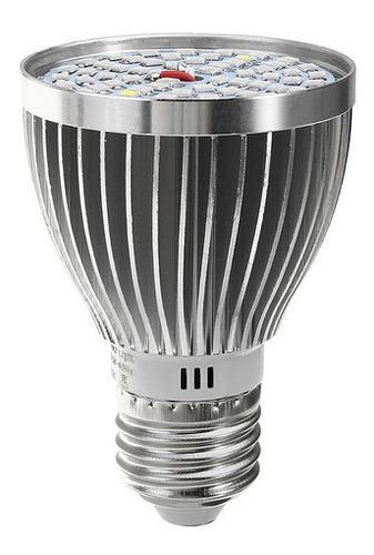 Lâmpada Crescer Luz E27 60w 2835 Smd Espectro Planta