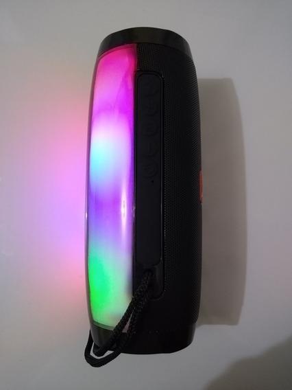 Caixa De Som Com Luz Estilo Jbl Pulse Bt Fm Usb Sd Atacado