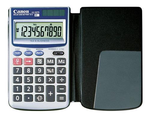 Imagen 1 de 2 de Calculadora Portatil Digital Solar Canon Ls-153ts Portable ®
