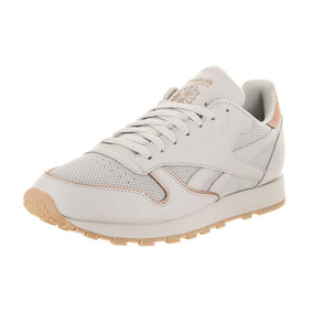 Tenis Reebok Classic Leather Gum Original Mujer Urban Beach
