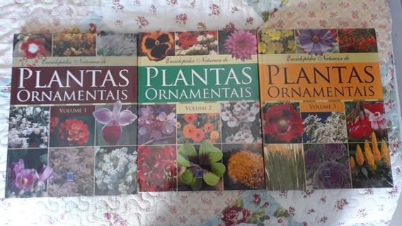 Enciclopédia Natureza De Plantas Ornamentais Em 3 Volumes*