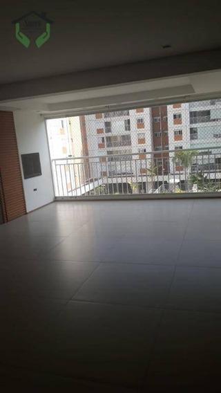 Apartamento Com 3 Dormitórios À Venda, 140 M² Por R$ 1.200.000 - Vila São Francisco - São Paulo/sp - Ap3662