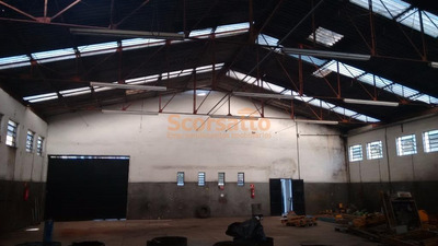 Galpão Industrial Para Locação, Potuverá, Itapecerica Da Serra. - Ga0148