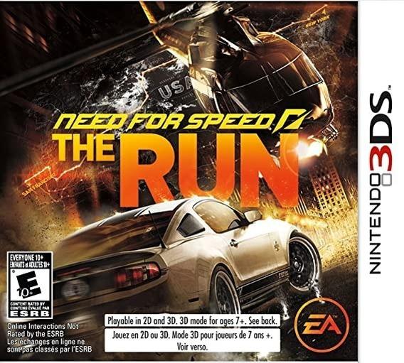 Jogo De Nintendo 3ds Need For Speed The Run-usado